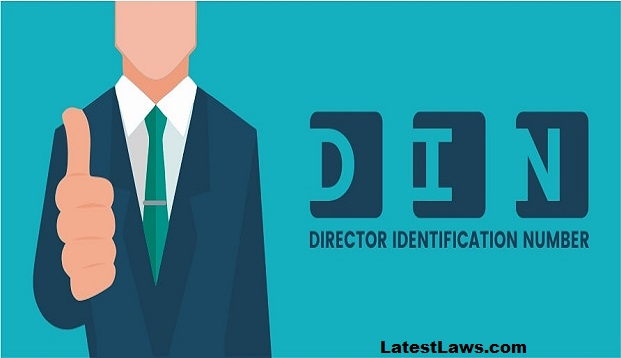 How to obtain a Director Identification Number (DIN) By Ronak Modi