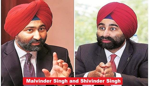 Malvinder files Life Threat complaint against brother Shivinder and