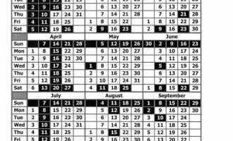 Court Calendar