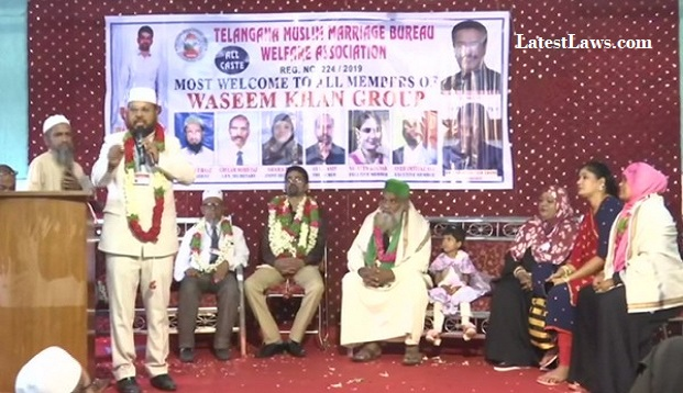 Muslim Marriage Welfare Association offers free service to Poor