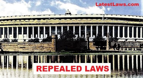 Repealed Laws