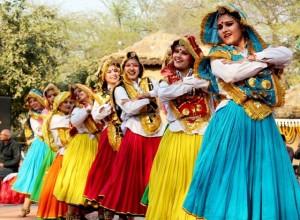 Haryanvi traditional folk dance