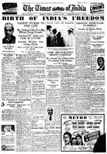 Old Indian News paper