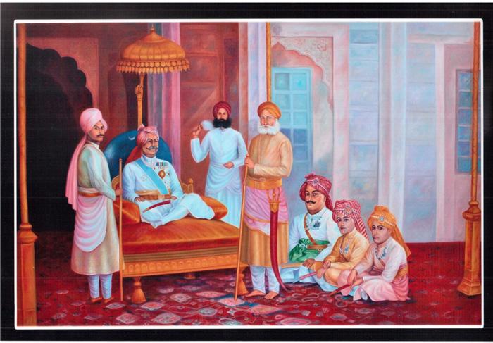 Vedic Era Court