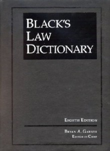 Black's Law Dictionery