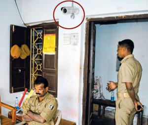 CCTV at PS