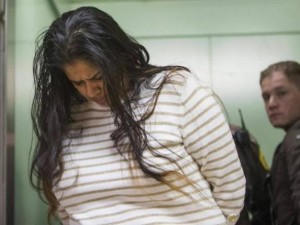 Purvi Patel is taken into custody after being sentenced to 20 years in prison