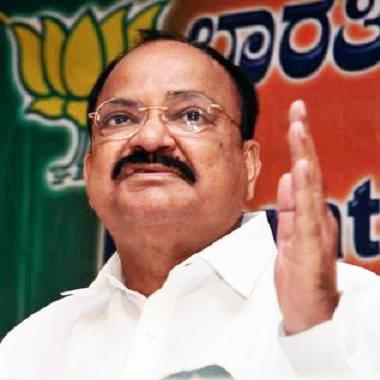 Union Urban Development Minister M. Venkaiah Naidu