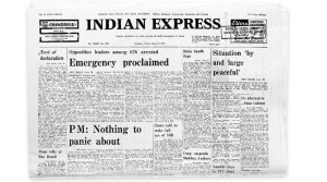 Emergency- Indian Express