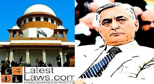 CJI Thakur unhappy