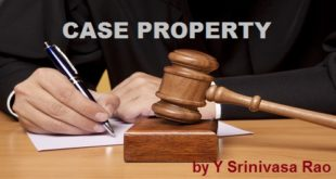 Dealing with Case Property