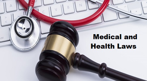 Medical and Health Laws