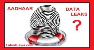 Aadhaar Data Base