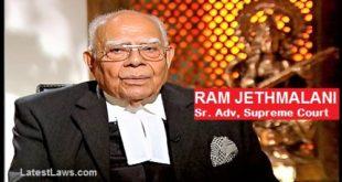 Sr. Advocate Ram Jethmalani