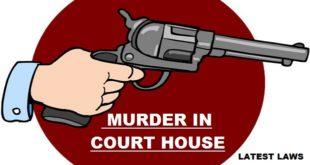 Murder in Court House