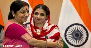 External Affairs Minister Sushma Swaraj seek help for Geeta
