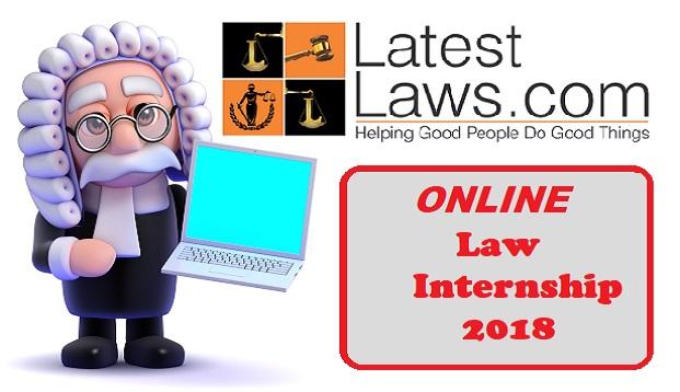 Online Law Internship 2018