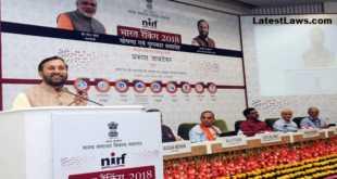 NIRF Rankings, 2018