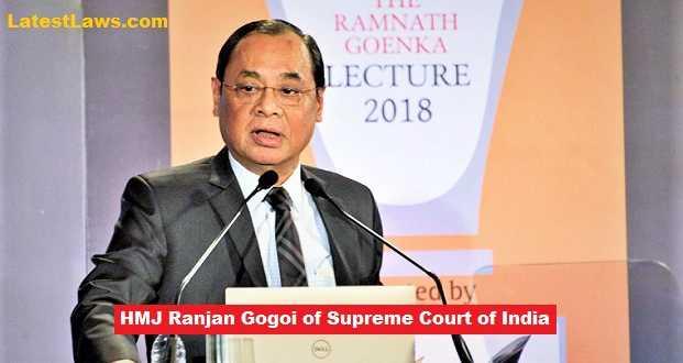 Justice Ranjan Gogoi of Supreme Court