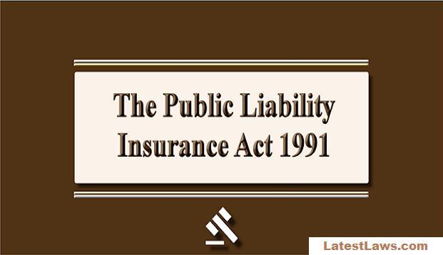 Public Liability Insurance Act