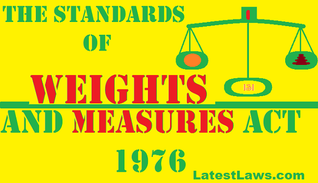 Standards of Weight and Measure Act